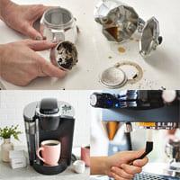 Как очистить кофеварку?