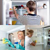 «Эко» методы очистки и дезинфекции холодильника.