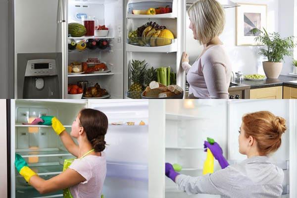 дезинфекции холодильника